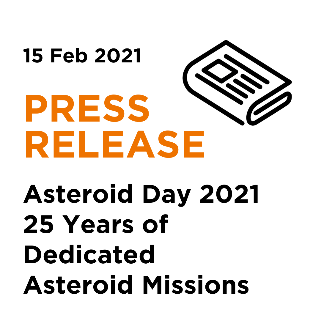 2021 02 15 Asteroid Foundation Press Release