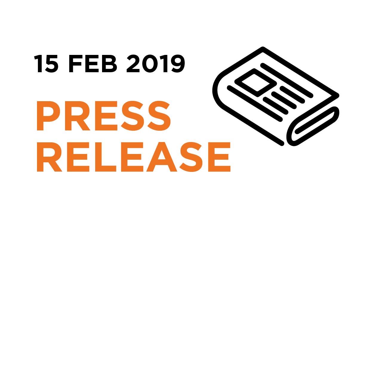 15.02.19   Press Release