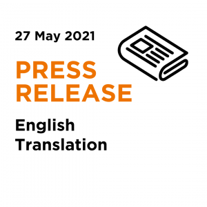 2021 05 27   AD May ADTV Press Release - English