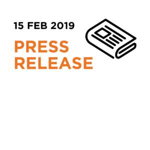 15.02.19 | Press Release