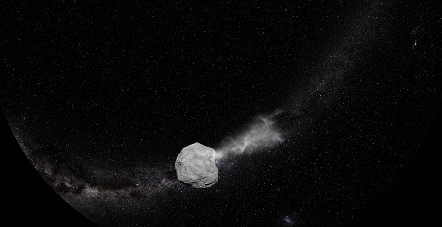 asteroid impact mission video